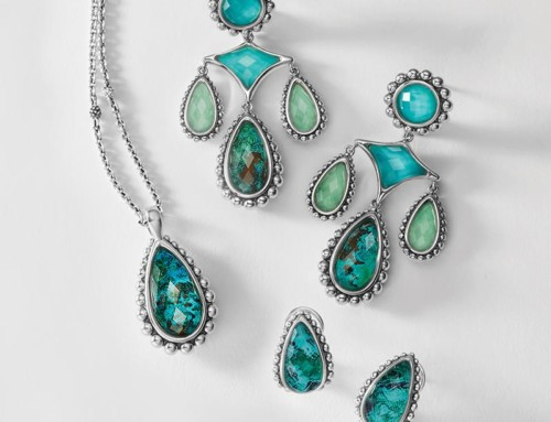 Spring Chrysocolla Collection by Lagos