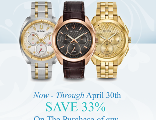 Bulova Watch Sale Event